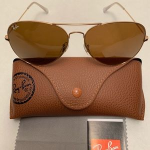 Ray-Ban Aviator Sunglasses RB3026 62-14mm 001/33